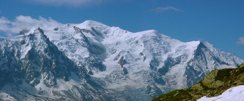Mont Blanc (neiges éternelles)