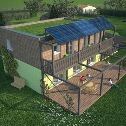 Maison passive la maison d 39 alzaz ou le blog de l 39 cologie - Maison de l ecologie ...